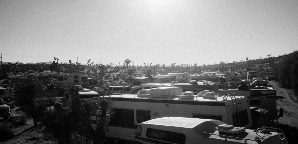 Desert Daze RV Camping View