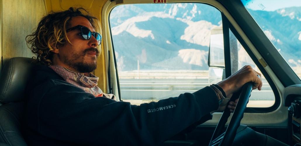 Agustin Mica driving