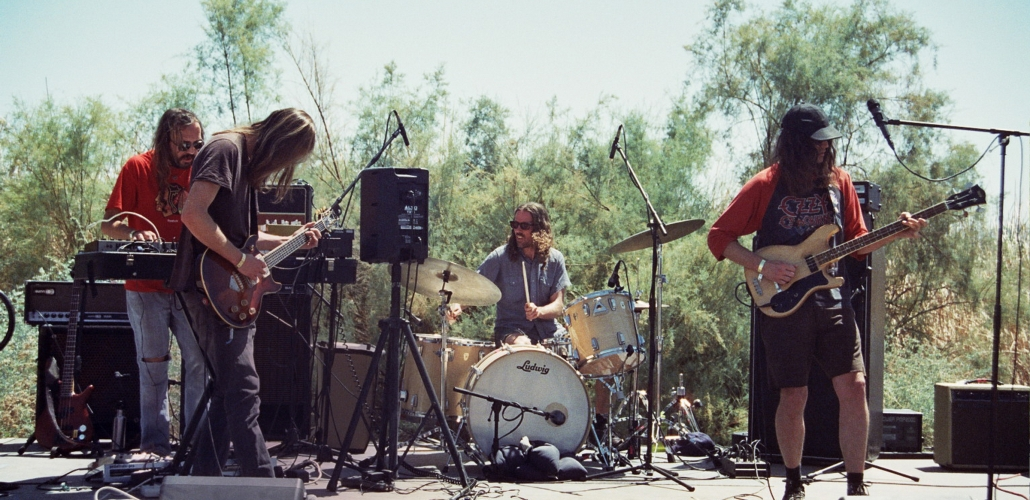 Flying Hair at Desert Daze 2015