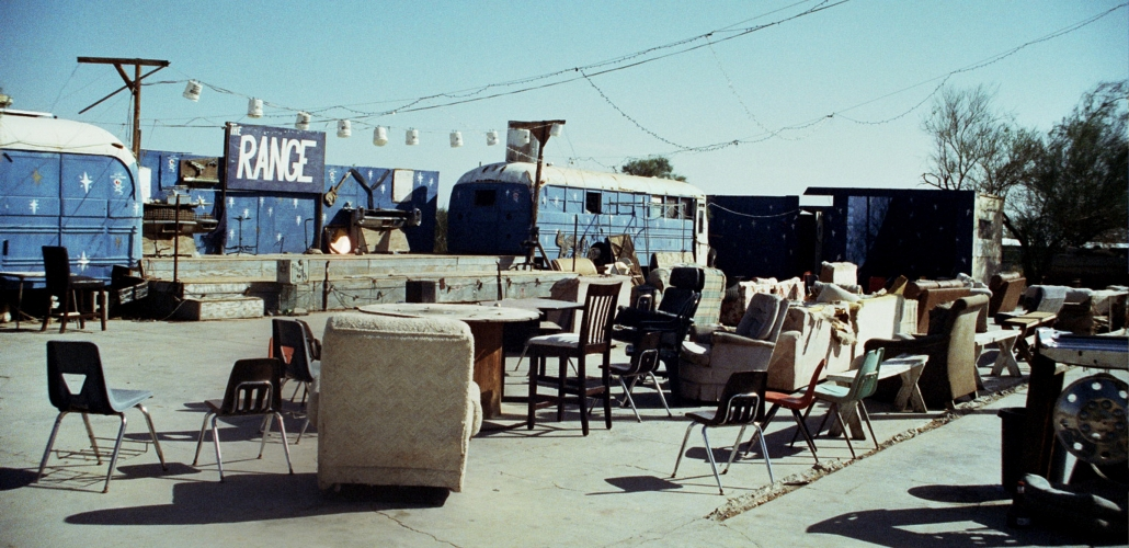 Slab City, the Range