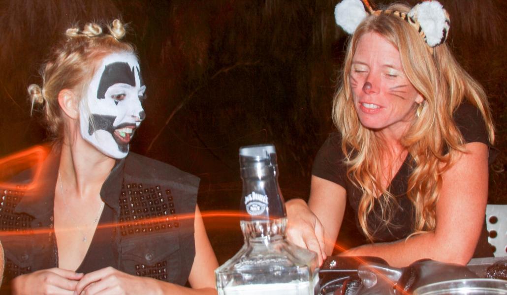 Jennifer Wolf at Halloween