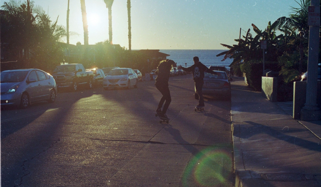 Carver Skate in San Diego 35mm