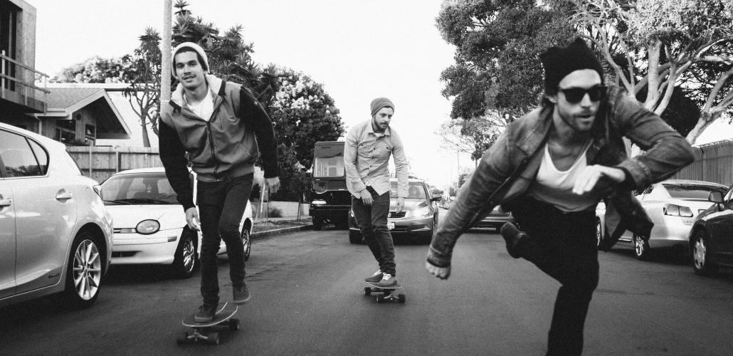 Guigo Foggiatto, and Martin Mica skating Carver