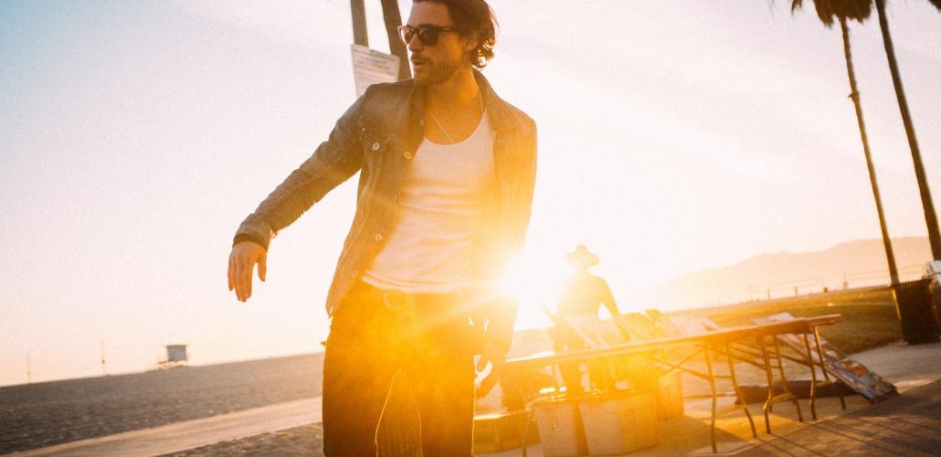 Martin Mica at Venice Boardwalk
